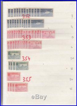 113000 EUROS DE COTE EN TIMBRES NEUFS DE FRANCE. Du n° 1 AU N°450
