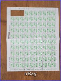 197 timbres lettre verte 50g validité permanente