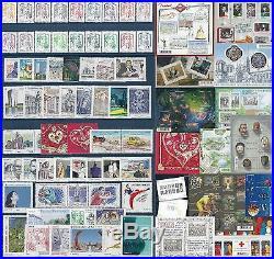2013 FRANCE Tous les TIMBRES de l'Année NEUFS LUXE 125 timbres année complète