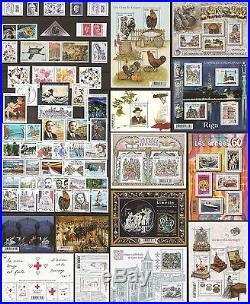 2015 FRANCE Tous les TIMBRES de l'Année NEUFS LUXE 92 timbres année complète