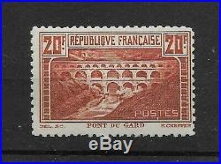 20F Pont du Gard, N° 262B, dentelé 11, signé