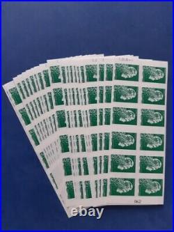 20 Carnets lettre verte NEUFS. Faciale 259.2. Economisez 50