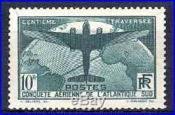 210317. N°321 Atlantique Sud. Luxe+ Gomme Originale