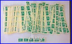 500 timbres Lettre verte permanente départ sous faciale 485
