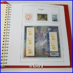 ALBUM YVERT T. 2012-2014 timbres France FACIALE 245