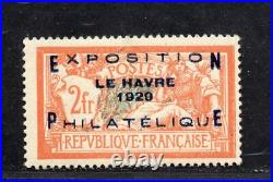 +AUTHENTIQUE EXPO LE HAVRE / COTE 1600 E NEUF LUXE / SIGNE BRUN/ No257A