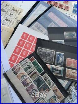 AVO! 1494 FRANCE collection timbres orphelin PA colis non dentelés fictif