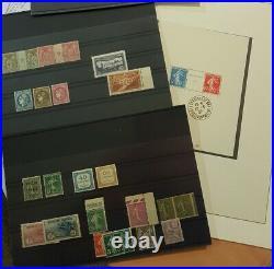 À NE PAS MANQUER 5 collection timbres dt signés 154/155 EIPA bloc 2 variétés +