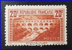 À VOS OFFRES! 10 FRANCE n°262B chaudron clair dentelé 11 signé certificat