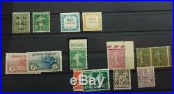À VOS OFFRES! 11 FRANCE collection belles valeurs 154/155 EIPA nbrx signés