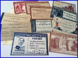 À VOS OFFRES! 591 FRANCE carnets publicitaires timbres blanc semeuse ++ TB R