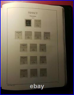 Album Leuchtturn Pré-imprimé 1849 A 1959+ Pa+preoblitere+ Taxe +service+ Bloc
