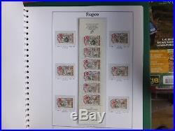 Album de timbre neuf et obli et de nombreux timbre neuf non classé