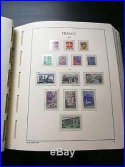 Album leuchtturm france avec timbres neuf 1960/1980 complet