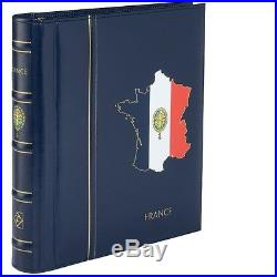 Album préimprimé, France 1849-1959, avec étui, Leuchtturm