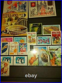 Album timbres neufs