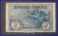 Au profit des orphelins de la guerre N°155 1917-18 Signé Calves
