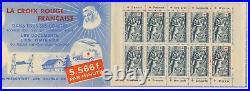 B4375 TIMBRE DE FRANCE Carnet Croix Rouge Année 1952 Neuf