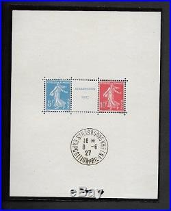Bloc N° 2, Exposition internationale de Strasbourg 1927