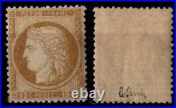 CERES 55 signé, Neuf gommé = Cote 1050 / Lot Classique France
