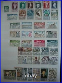 COLLECTION TIMBRES FRANCE année complète 1960 A 1969 NEUF COTE 420
