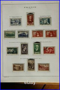 COLLECTION de TIMBRES COURANTS de FRANCE NEUF de 1936 à 1980 complète