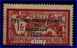 CONGRES Philatélique de BORDEAUX, Neuf = Cote 925 / Timbre France 182