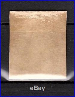 CPX-2001 FRANCE 1853 N°15e NAPOLEON 25Cts BLEU N. DENTELE IMPERF MNH CV 3800