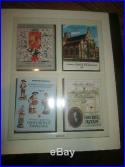Carnet Croix Rouge Neuf 1952/1983 Sur Feuilles Lindner