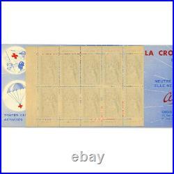 Carnet Croix-rouge N°2001, Timbres Neufs Émis En 1952