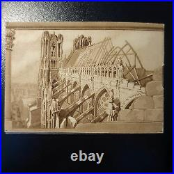 Carnet N°256-c1 Sourire De Reims N°256 8 Timbres Neuf Luxe Mnh Cote 1350
