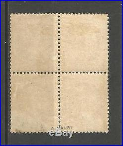 Céres N° 56. Bloc de 4. Neuf et Neuf (2 timbres). Signé. A. MAURY