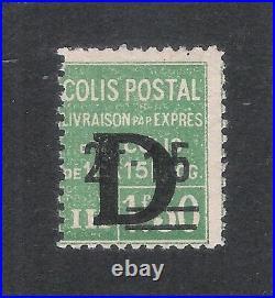 Colis Postaux N°139 Neuf Trace De Charnière Ttb Cote 550