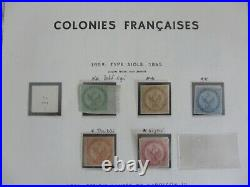 Collection Colonies Generales Neuf// Sur Feuilles Moc Voir 11 Scans
