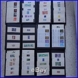 Collection De 600 Gravures Épreuves France Essais De Couleur Non Dentelé Imperf