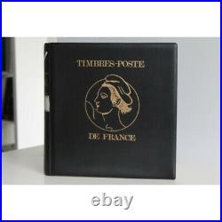Collection De Timbres De France 1945-1959 Dans Un Album Lindner