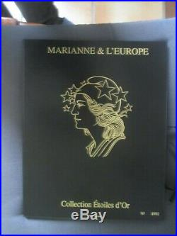 Collection Etoiles D'or Marianne Et L'europe