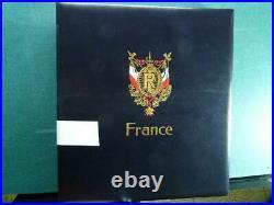 Collection France 1849-1954 album timbres oblitéré et neufs/ haute CV N 3 -4