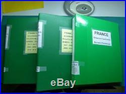 Collection France BF et brochure de souvenirs, neufs jusqu'en 2016 3 album