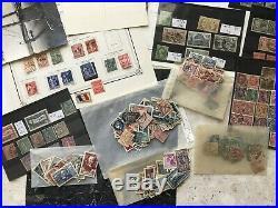 Collection Timbres De France En 2 Cartons, Neufs Et Obliteres, A Trier, Lot 1