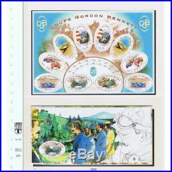 Collection Timbres Neufs sans Charnière France 1940 au 2008 10 Albums Lindner