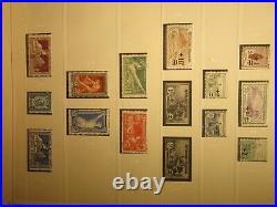 Collection de timbres de France neuf réunies dans 11 reliures Safe Yokoama