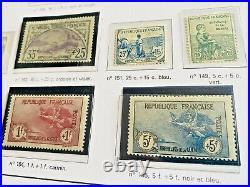 Collection timbres de France 1900-1944 Neufs dt 1ère série orphelins, 182,257A, BF