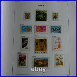 Collection timbres de France 2001-2008 complet neuf en album DAVO, SUP