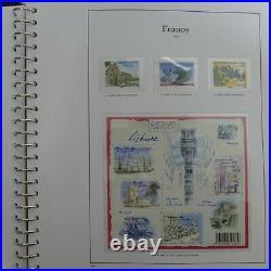 Collection timbres de France neuf 2009-2012 complet en album, SUP