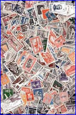 Colonies Françaises avant indépendance 1500 timbres différents