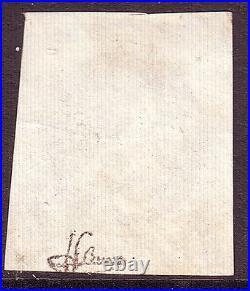 Emission de Bordeaux n° 41 N signé J. F. Brun