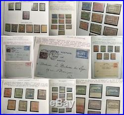 FAIRE OFFRE MAROC PROTECTORAT collection timbres postes locales épreuves ++