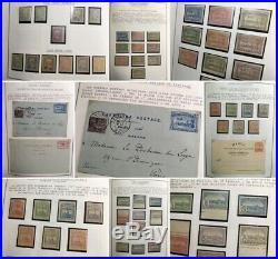 FAIRE OFFRE MAROC PROTECTORAT collection timbres postes locales épreuves ++