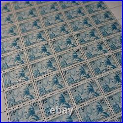 FEUILLE SHEET AVIATION DE ROZIER N°313 x50 1936 NEUF LUXE MNH COTE 2250
